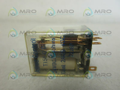 Allied T154-C-C Relay 24V *used*