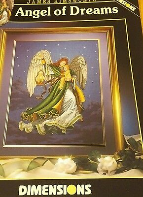 Angel Of Dreams James Himsworth Dimensions Cross Stitch Chart, Oop