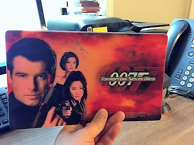 007 JAMES BOND - 'Tomorrow Never Dies' Promotional Mouse Pad - Mint Condition!