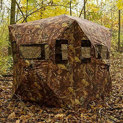 Pop-up Camo Tent Photography Hunting Hide Blind Shooting 2/3 Man Camouflage