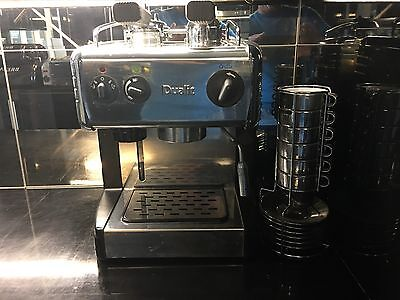RARE Dualit 84009 2 Cups Espresso Machine - Chrome