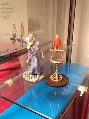 Harry Potter Miniature Figures Fawkes The Phoenix And Dumbledore