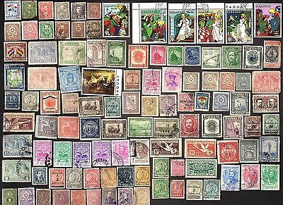 790 All Different PARAGUAY  STAMPS