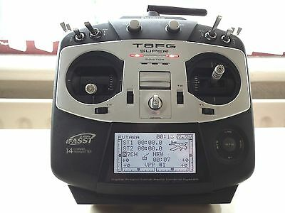 Futaba T8Fg Super 2.4 Ghz Fasst Transmitter In Perfect Working Order, Mode 2.