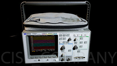 HP 54620C Logic Analyzer w/ Pouch 16 Channel Color Diplay 500 MSa/s FreeShipping
