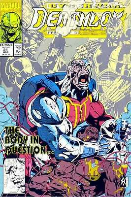 Deathlok (1991 series) #21 in Near Mint condition. FREE bag/board