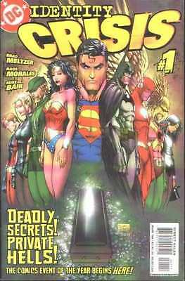 Identity Crisis #1 in Near Mint condition. FREE bag/board
