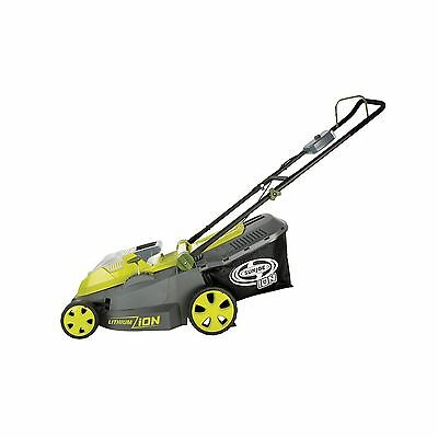 Sun Joe iON16LM-CT (Core Tool) 40-volt 16-Inch Cordless Lawn Mower with Brush...