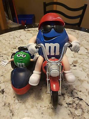 Vintage M&m Collectible Freedom Rider With Two Figures