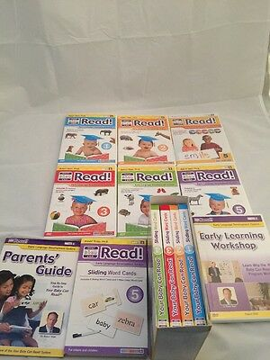Your Baby Can Read! Vol. 1-5 DVDs, Sliding Word Cards, And More