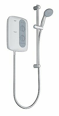 GROHE 26178000N Tempesta 100 8.5KW Electric Shower unit - White/ Night-Time Grey
