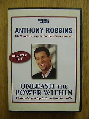 Tony Robbins - Unleash The Power Within Audio Program with Guide Book