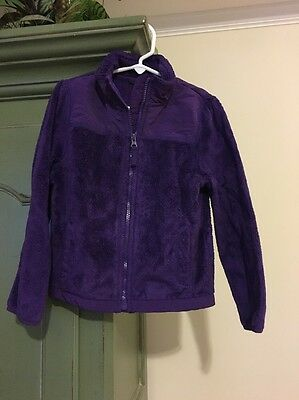 Girls GUC Size 5-6 The Children's Place Purple Jacket