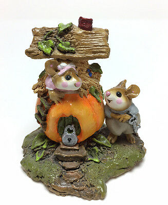 PETER PUMPKIN EATER By Wee Forest Folk, WFF# M-190 Retired in 1995! EXCELLENT!