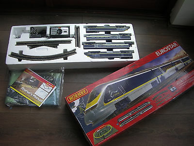 Hornby R1176 Eurostar e300 OO Gauge Train Set