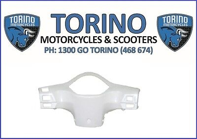 Torino Famosa White Back Handle Bar Panel OEM Torino Spare Parts