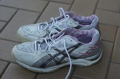 Asics Gel Netburner Women's Netball Shoes Size 13 Sneakers Used