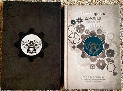 "NEIL PEART (RUSH) ""Clockwork Angels –The Graphic Novel"" Signed Ltd. Edition Book"