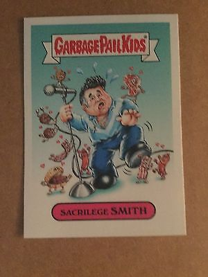 Sacrilege Smith Morrissey Garbage Pail Kids Best Of The Fest 2016 Topps Card Mt