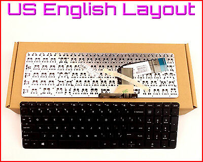 NEW Laptop US Keyboard no Frame For HP Pavilion 15-ac134ds 15-ac135ds 15-ac137cl