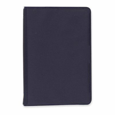 "Memo Book Mead 5"" x 3"" Black Vinyl Cover 6-Ring with Narrow Ruled Paper 40 Sheet"