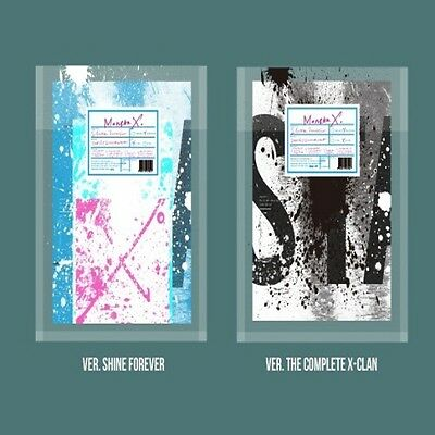 Monsta X - [Shine Forever] 2 Ver SET CD+Poster+Booklet+Bromide+Photocard+Sticker