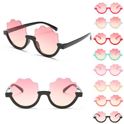 Fashion Sunglasses Children Boys Ocean Film Kids 8 Color Girls Personality New