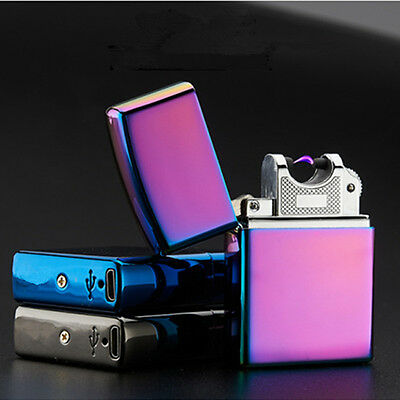 Electric Arc Plasma Lighter Cigarette Rechargeable Windproof Flameless USB