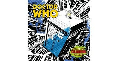 Doctor Who - Official 2017 Colouring In Calendar
