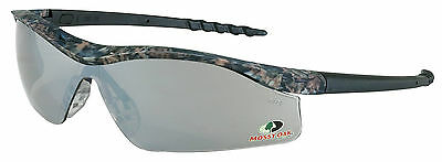 Mossy Oak Safety Glasses Camo / Silver Mirror 2 Cases Incl