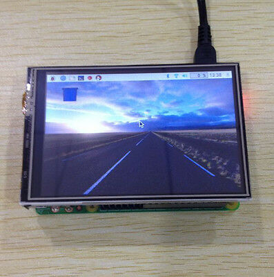 3.5 Inch LCD TFT Touch Screen Kit with 9 Layer Case for Raspberry pi 2/3 Model B
