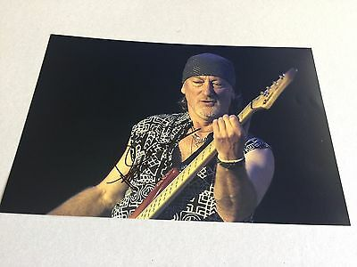 ROGER GLOVER DEEP PURPLE signed In-Person Photo 20x30 Autogramm