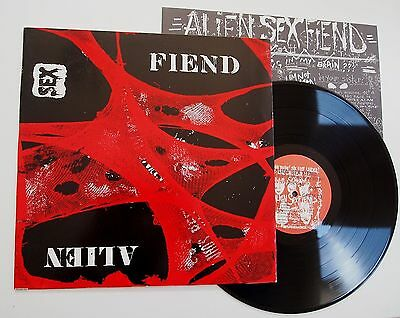 ALIEN SEX FIEND - WHO'S BEEN SLEEPING IN MY BRAIN LP VINYL EX/NM UK Original