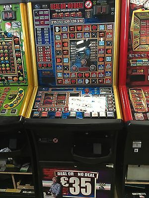 Deal Or No Deal The Power Five £35 Jackpot Fruit Machine