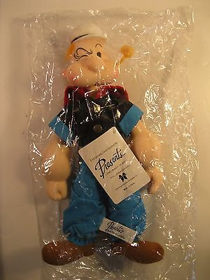 POPEYE 1985 PLUSH DOLL FIGURE 11-1/2 inch KING FEATURES PRESENTS MINT IN BAG