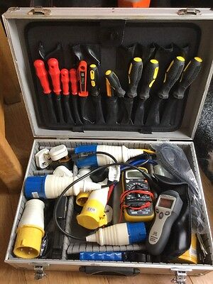 pat testing accessories plugs microwave tester tools never used