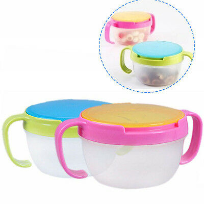Candy Cup Snacks Holder Anti Spill Baby Food Storage Bowls Feeding Container
