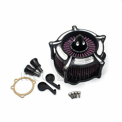 Contrast Cut Turbine Air Cleaner Filter For Harley Sportster XL 883 1200 91-16