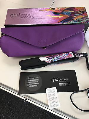 Ghd Tropical Sky Platinum Straighteners #free Postage#