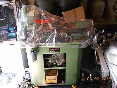 Myford super 7 Lathe, with power cross slide & leadscrew and tooling