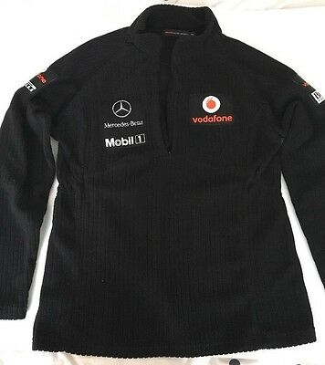 McLAREN MERCEDES - Hugo Boss - Vodafone  F1 Formula One Womans/Mens Warm top