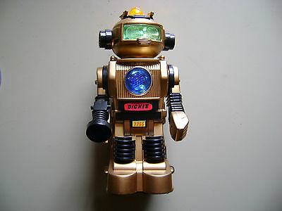 tintoy alter Roboter Robot um 1970 1980 space vintage Dickie tin toy