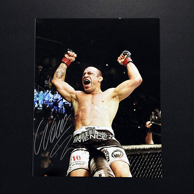 "WANDERLEI SILVA ""Celebration"" Autographed 8x10 Photo MMA UFC -Free S/H"