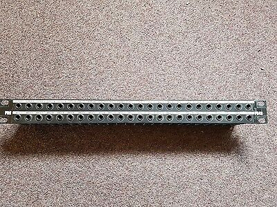 P&R PB48 19inch rack 48 way 6.35mm jack patchbay