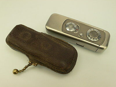 Vef Riga Minox Camera Leather Purse, Original, Rare