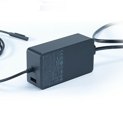 NEW Genuine  Microsoft Surface Pro 2 AC Adapter Charger 48W 12V 3.6A OEM EU US