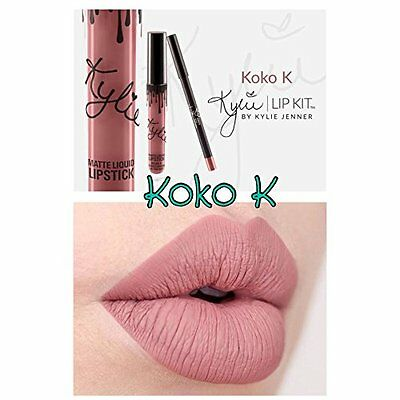 New Koko K  Lip Set Lip Kit Matte Lipstick With Lip Liner Uk Seller