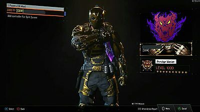 Call of Duty Black Ops lll(BO3) DUPLICATE ACCOUNT'S{PS4 ONLY}CHECK DESCRIPTION!