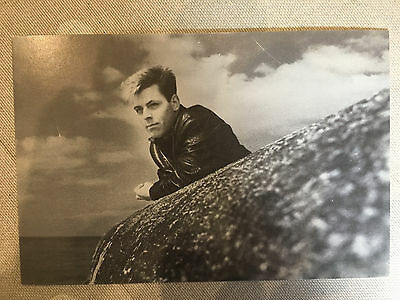 The Smiths Andy Rourke Rough Trade UK promo postcard - Very Rare