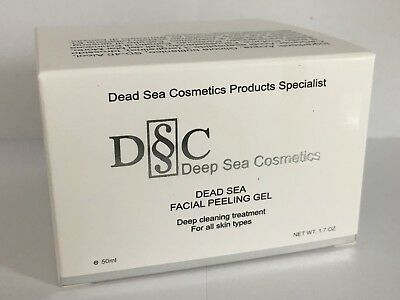 BRAND NEW DEAD SEA DEEP SEA COSMETICS FACIAL PEELING GEL 1.7 oz